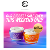 FREE gifts all weekend!? 😍