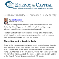 Options Action Friday — This Stock Is Ready to Rally