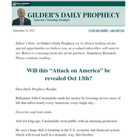 """Will this """"Attack on America"""" be revealed Oct 13th?"""