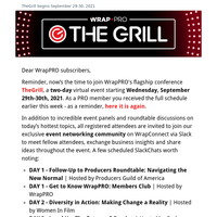 REMINDER: Time to register for TheGrill! Network over our Slack channel!