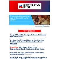 NEWSFLASH: GOP Reps Bring More Impeachment Articles Against Joe Biden