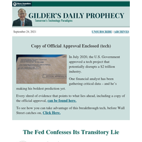 The Fed Confesses Its Transitory Lie