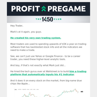 Mark's giving away this $5K-value trading software for free