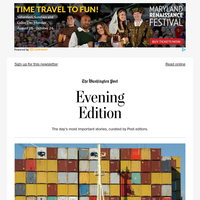 Evening Edition: Biden administration struggles to fix supply chain before holidays