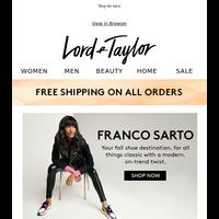 NEW Franco Sarto, Soft Sweaters & Updated Denim