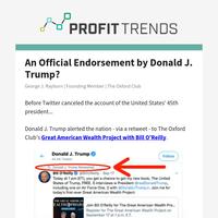 ❗Donald J. Trump Official Endorsement?