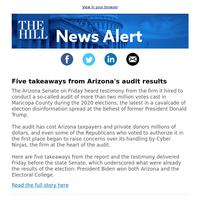 News Alert: Five takeaways from Arizona's audit results
