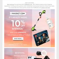 Partner Email: Get 10% Off Sitewide* 😀