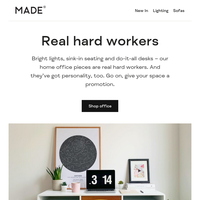 MADEover: back to office edition