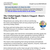 Must Read: The Global Supply Chain Is Clogged — Here's How to Play It