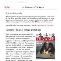 Careers: The great college gender gap