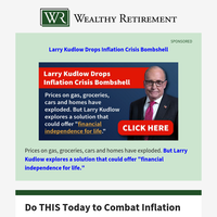 Do THIS Today to Combat Inflation