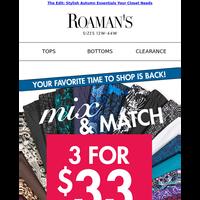 The Deal: 3 For $33 Tops, Leggings & Soft Knit Bottoms