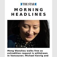 Today's Star Headlines
