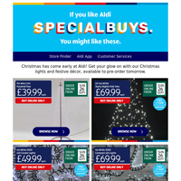Open up for exciting new Christmas and Toy Specialbuys!