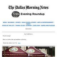 U.S. House votes on abortion measure, bodies found in Fort Worth dumpster, counties react to election audit: Your Friday evening roundup