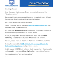 """America's #1 Pattern Trader Releases """"Consistent Triple-Digit Windfalls"""" Strategy"""