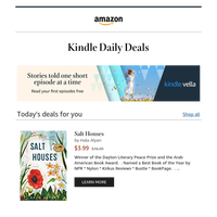 Your Kindle book deal recommendations are waiting for you