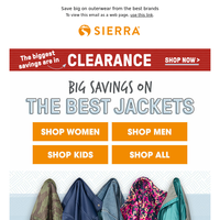 Find outerwear for the family