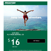 Hey Denver, fares are FALLing and adventure is CALLing!