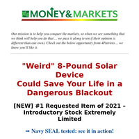 NEW 8-Pound Solar Generator is HERE