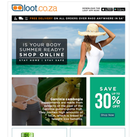 Set Your Summer Body Goals & Save Up To 40%!