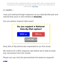 re. New York Vote-By-Mail Polling
