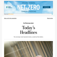 Saturday's Headlines: Biden defends his social agenda bill, saying the cost will be zero
