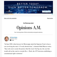 Today's Opinions: The Mississippi bait and switch on abortion