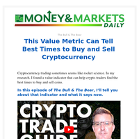 Value Metric Can Tell Best Times to Buy and Sell Crypto