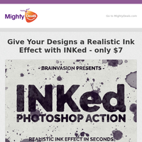 Give Your Designs a Realistic Ink Effect with INKed