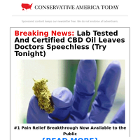 Lab Tested And Certified CBD Oil Leaves Doctors Speechless (Try Tonight)