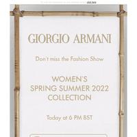 Follow the Women's Spring/Summer 2022 Fashion Show