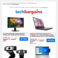 Weekend Deals: 42% off Dell 25\