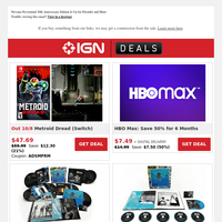 Daily Deals: Preorder Metroid Dread for 21% Off