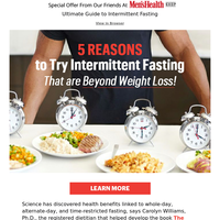 5 Reasons To Try Intermittent Fasting