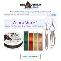 Create in Vivid Color with Zebra Wire