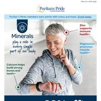 20% off Minerals • Zinc, Magnesium & more