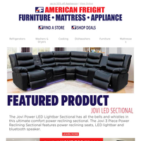 WOW! Recline in Comfort & Style! — NEW Featured Product