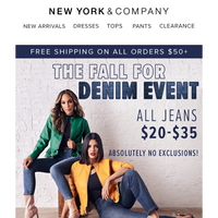 Did Someone Say $20 Jeans?