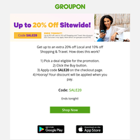 Surprise Sitewide Sale!