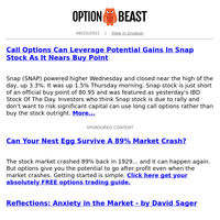 Call Options Can Leverage Potential Gains In Snap Stock As It Nears Buy Point