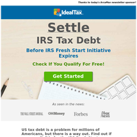 Immediate IRS Relief