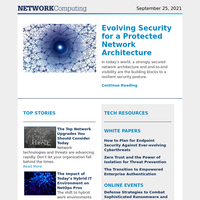 Evolving Security for a Protected Network Architecture