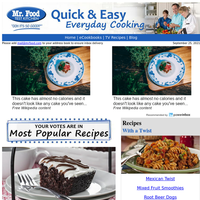Crazy Cake, Cabbage Roll Soup, & More