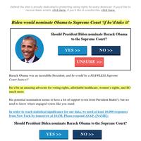 Justice Barack Obama???