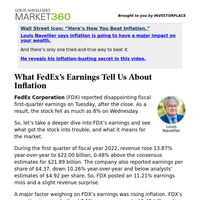 Must Read: What FedEx's Earnings Tell Us About Inflation
