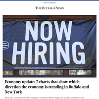 Economy update: 7 charts that show which direction the economy is trending in Buffalo and New York