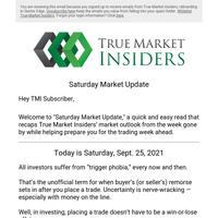 Saturday Market Update: Investing with Fake Money