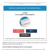 New York, New York vaccine passports →